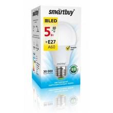 Светодиодная лампа Smartbuy A60 5W 4000K E27 470Лм