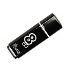 Флешка Smart Buy 8 GB Glossy series Black