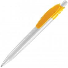 X-8, ручка шариковая, желтый классик/белый, пластик