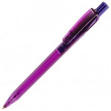 TWIN LX, ручка шариковая, прозрачный фиолетовый, пластик